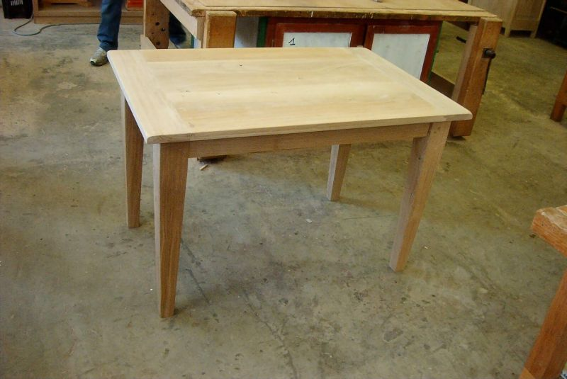 Table de restaurant table de cuisine le bois m tier ou passion - Table de cuisine bois ...