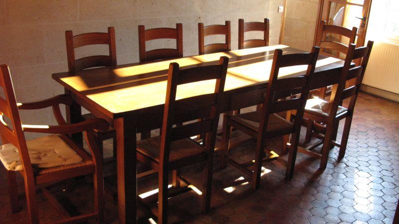 Table de restaurant table de cuisine le bois m tier ou - Table de cuisine ancienne en bois ...