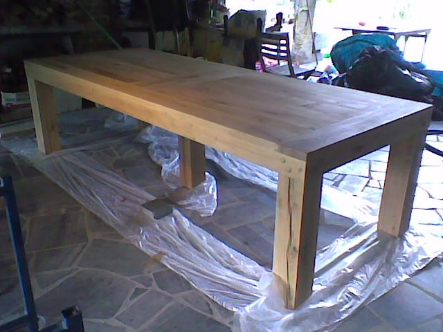table de salle manger le bois m tier ou passion. Black Bedroom Furniture Sets. Home Design Ideas